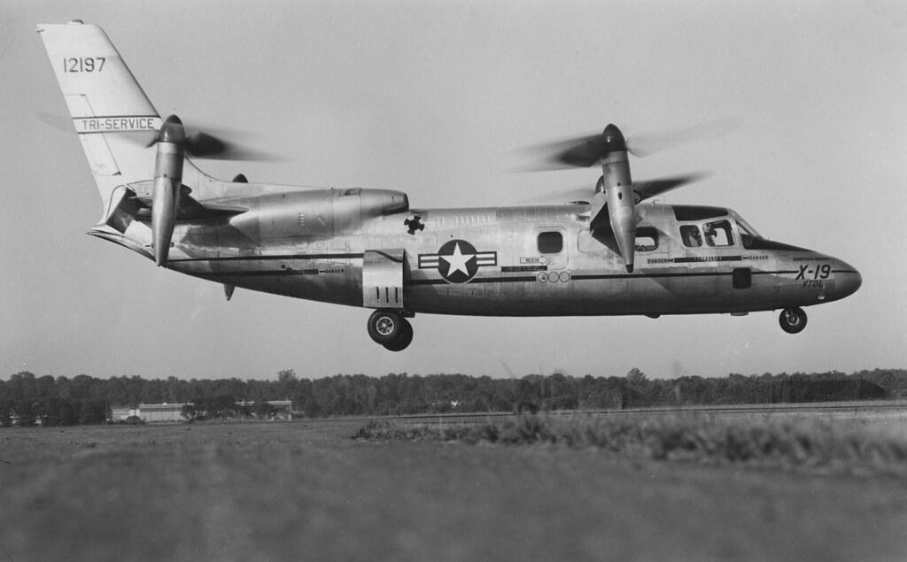Curtiss Wright X-19