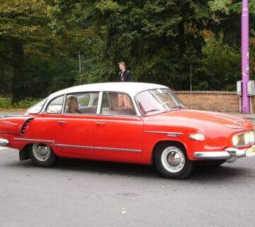 Татра T 603 – чешки лукс на четири колела