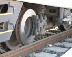 Влакови спирачки с външни дискове