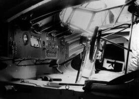 Хидропланът Savoia-Marchetti S.55 - кабина