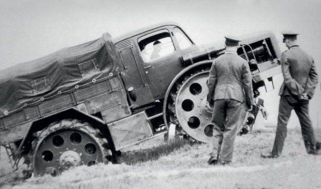 Radschlepper Ost