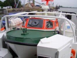 Спасителните катери от 27.5 м. клас в Германия - дъщерната лодка