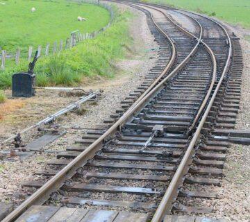 Железопътните стрелки