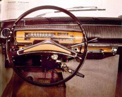 Първият хечбек Renault 16 - интериор