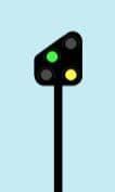Сигнализация - предупредителен светофор