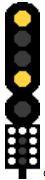 Сигнализация - скоростен светофор
