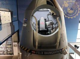 Капсулата от която Felix Baumgartner извършва рекордния си скок