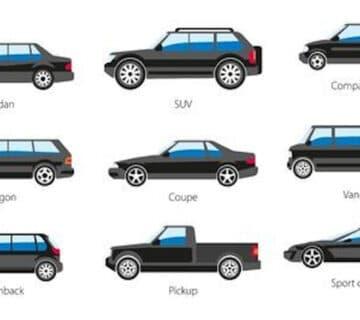 Видовете автомобилни купета