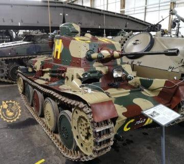 Лек танк Panzerwagen 39 LTL-H Praga
