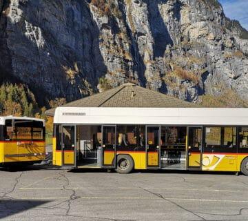 Пощенски автобус Hess AMP, Швейцария