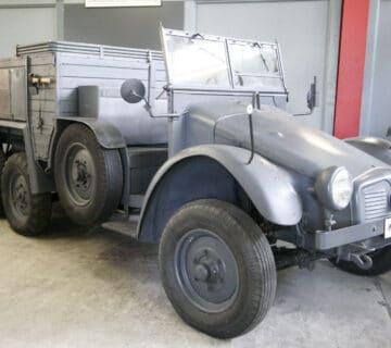 Камионът влекач Krupp-Protze