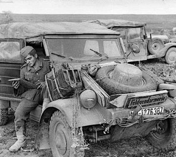 Kübelwagen–германският щабен автомобил
